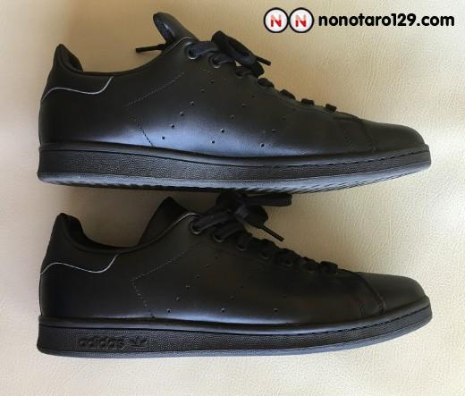 Black adidas stan smith 04