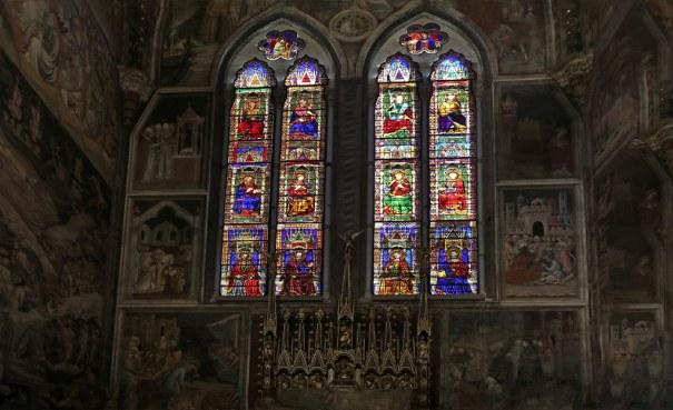 Risultati immagini per vetrate gotiche san petronio bologna
