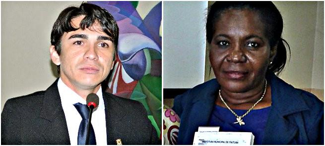 Esposa e esposo de vereadores na folha de pagamento da Prefeitura de Itaituba , Wescly e Maria Pretinha