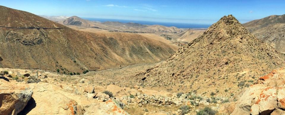 Barranco de Las Peñitas Parque Rural de Betancuria Mirador de la Peñita Isla de Fuerteventura panoramica 313