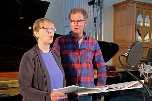 Ann-Christin Hallgren och Olle Persson