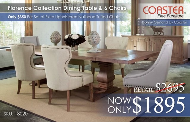 Florence Collection Dining Set 18020