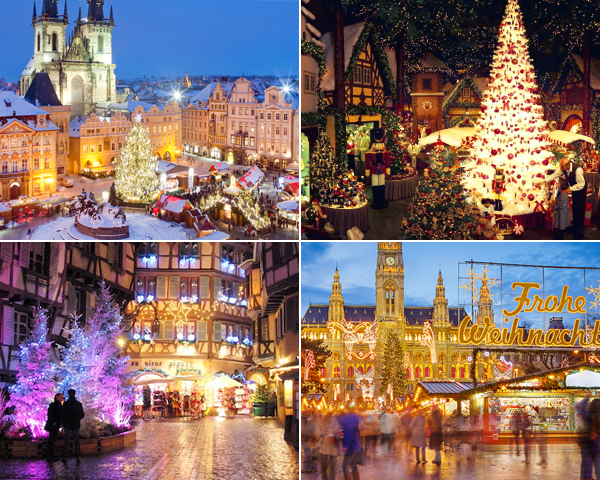 Ruta por los lugares más bonitos de la Navidad en Europa