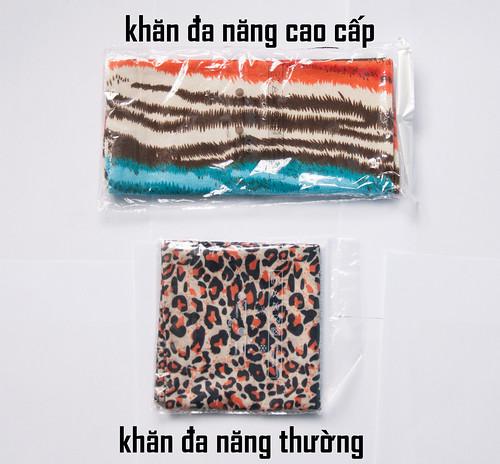 phân biệt khăn đa năng loại thường và loại tốt