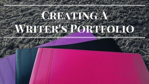 Creating writer's portfolio