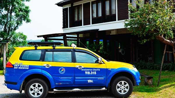 Taxi Chiang Mai Thailand