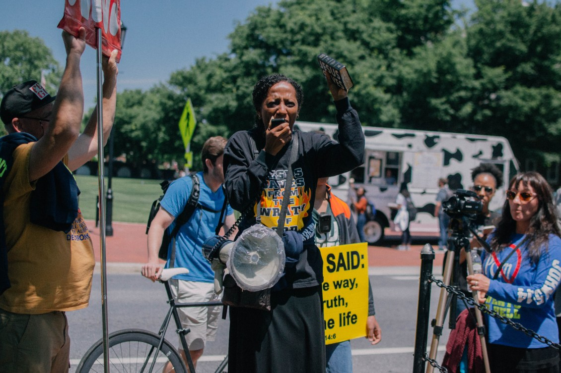 North Green Protest - 5/10/2017