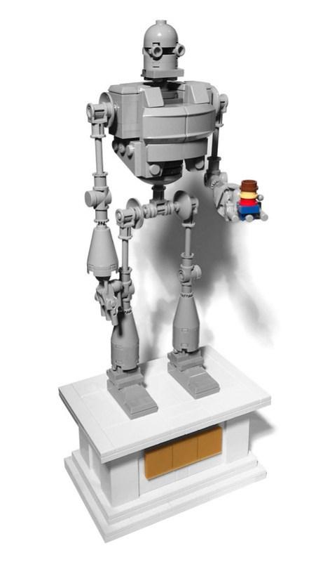 the iron giant le g ant de fer hellobricks blog lego. Black Bedroom Furniture Sets. Home Design Ideas