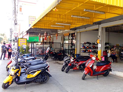 Rent Motorcycle Chiang Mai 01