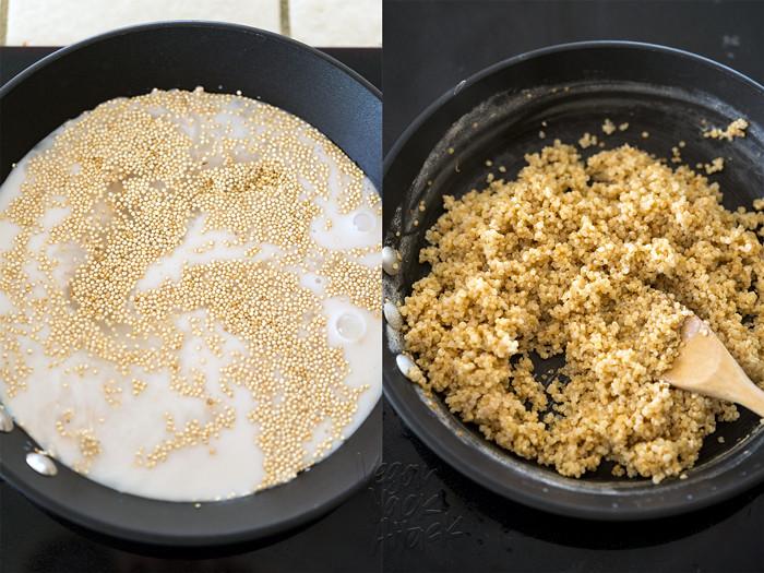 Sweet breakfast quinoa