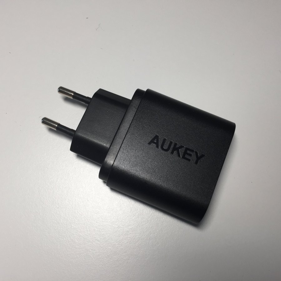 Test du chargeur AUKEY 1 port USB Quick Charge 3.0 (PA-T9) 2