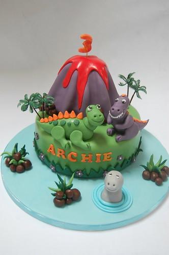 Volcano Birthday Cake Uk
