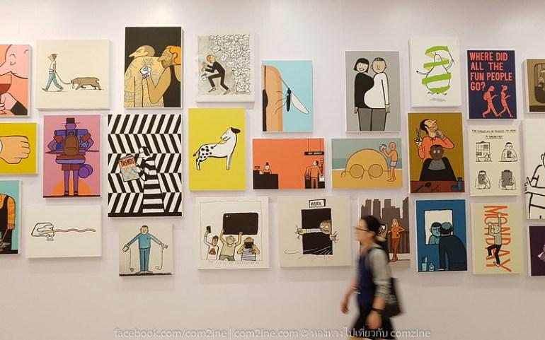 6ฌอง จูเลียง - The People งานศิลป์สนุก สะท้อนยุคโมเดิร์นไลฟ์