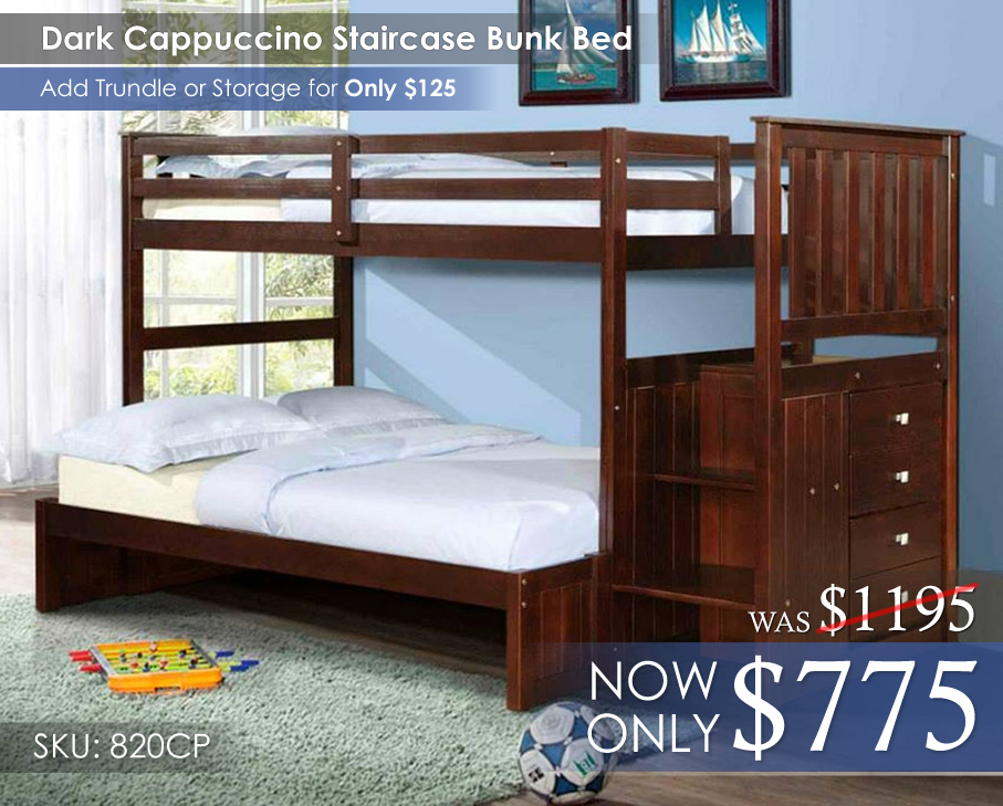 820CP TFStaircase Bunk Bed