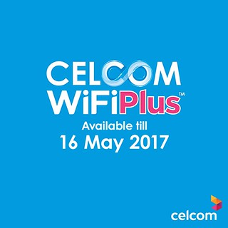 No More Free CelcomWifi after 16 May 2017