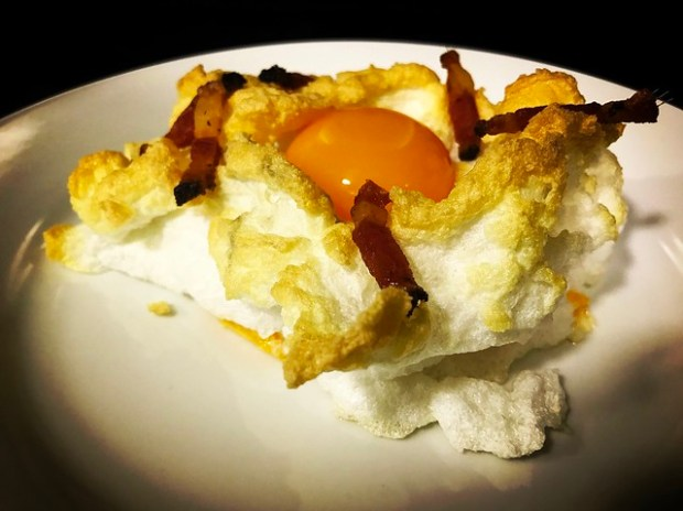 huevos nube de oca o de corral. koketo
