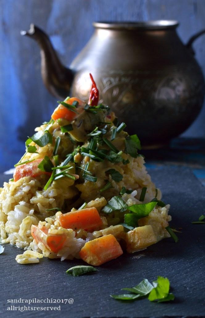 curry di verdure al latte di cocco