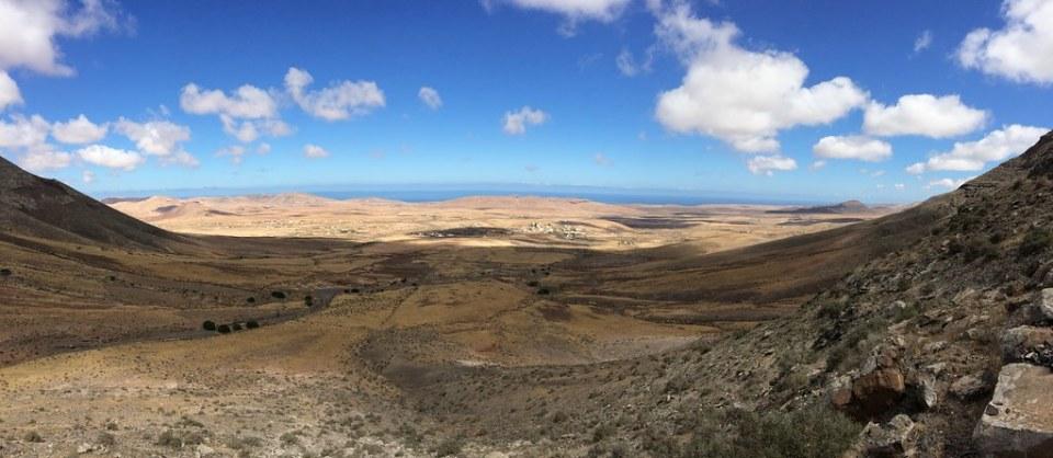 Tefia Valle y Degollada de Facay Isla de Fuerteventura
