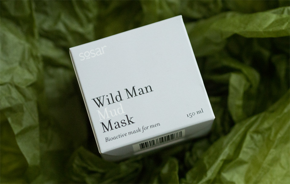 sosar wild man mud mask