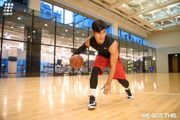 """Whether into basketball or not, Toby's Sports """"We Got This"""" campaign will make one realize that there is no excuse not to get physically fit and healthy."""