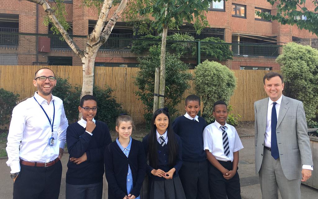 Ashburnham Community School Chelsea Greg Hands With The