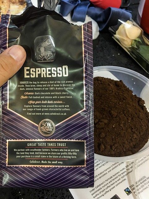 Cafedirect 100% Arabica Espresso Ground Coffee 2017