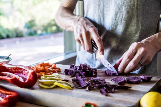 colorful cutting board
