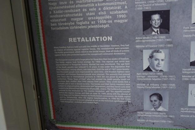 Retailiation Plaque