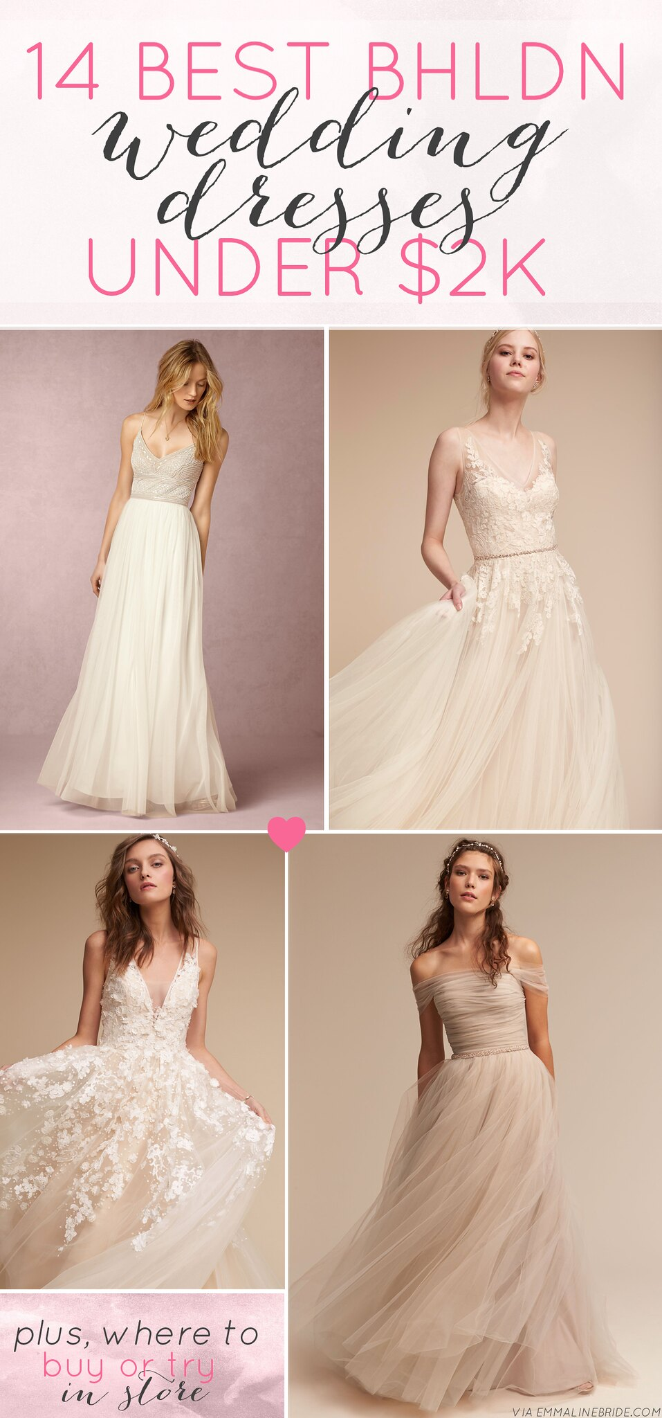 where to buy bhldn wedding dresses