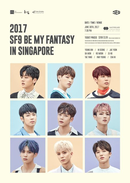 SF9 Be My Fantasy Fan Meeting Tour in Asia