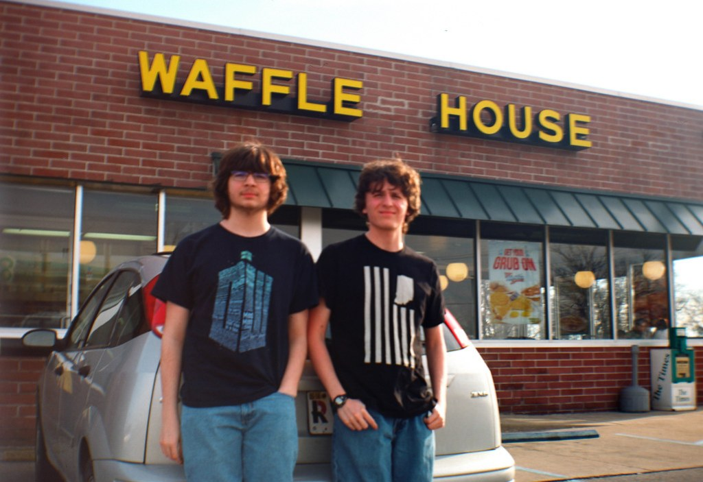 Boys at Waffle House