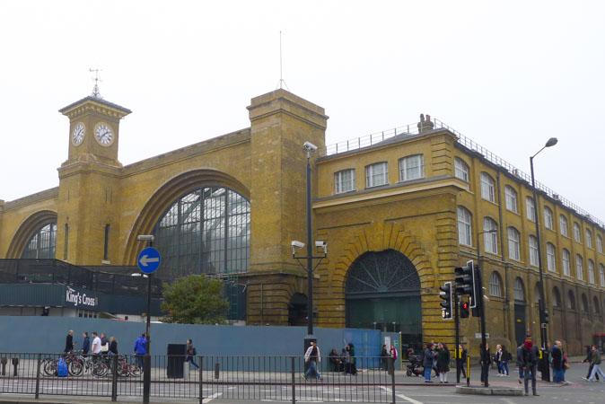 King's Cross Station by Jill Browne