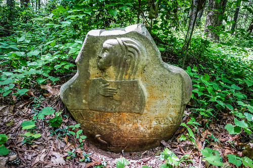 Old Stone Cemetery at Landsford Canal-036