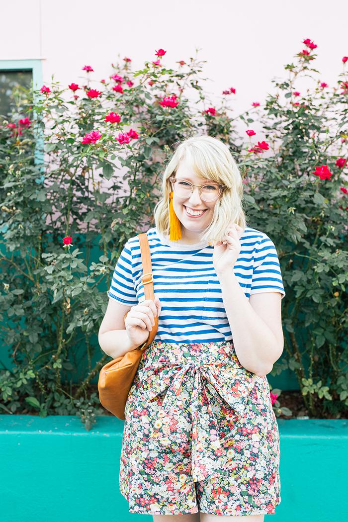 austin style blogger writes like a girl jcrew liberty floral shorts10