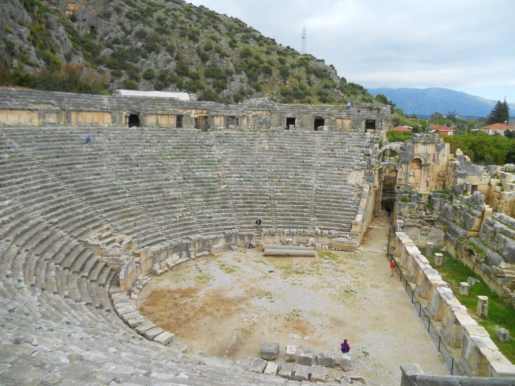 Ancient Roman Theater, Myra