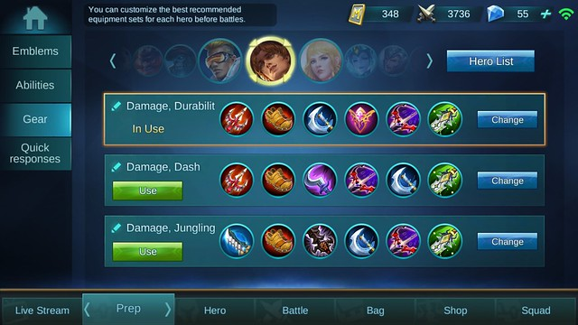 Mobile Legends Clint Build ala makantidurgadget