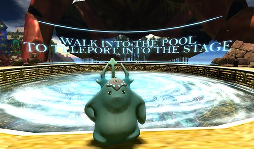 Walk Into The Pool