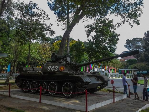 Tank That Crashed The Gates