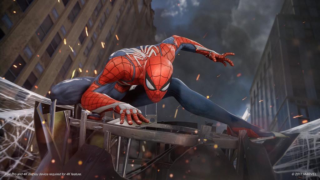 Spider-Man PS4 Gameplay Demo