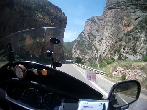 Uno dei panorami della Rider 500