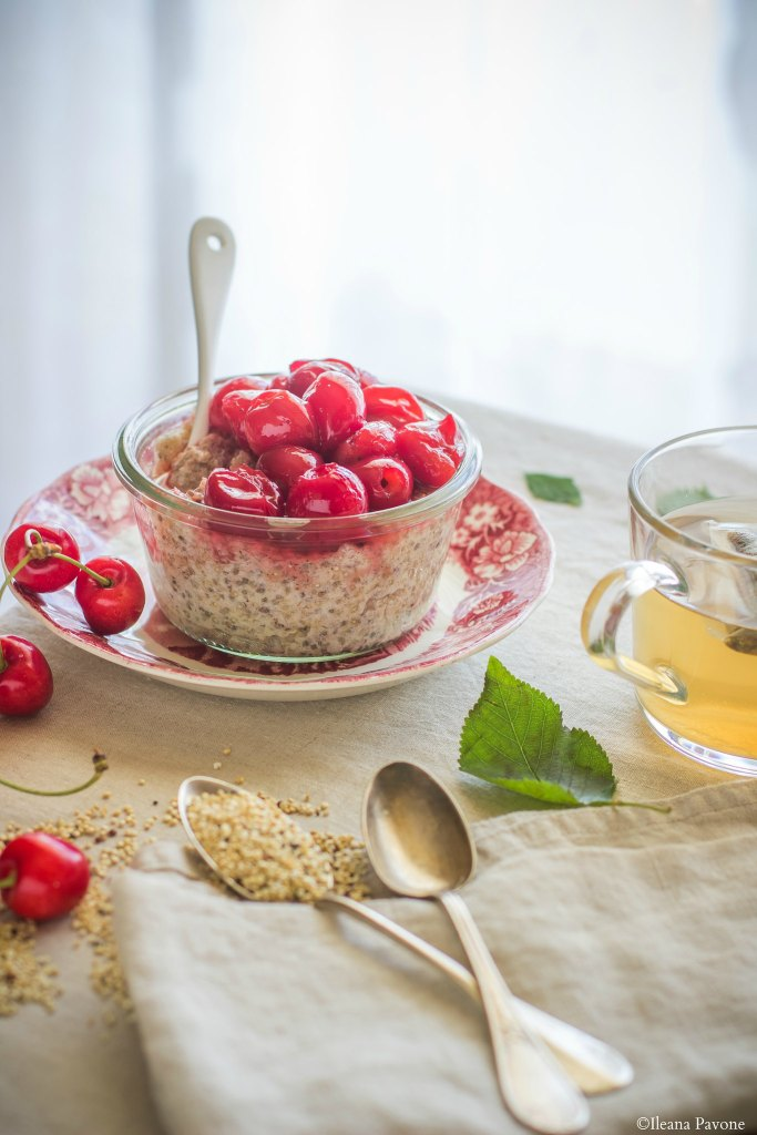 Porridge di quinoa agli albumi4