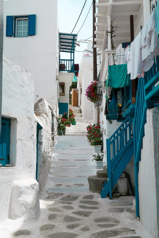 Wanderlust Us Travel Blog - Mykonos Town