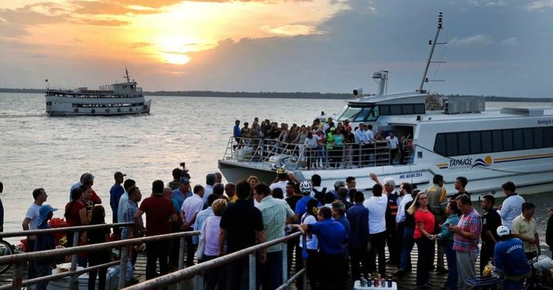 Arcon fixa reajuste na tarifa de transporte fluvial em 3 linhas no Baixo Amazonas, Lancha, transporte de passageiros