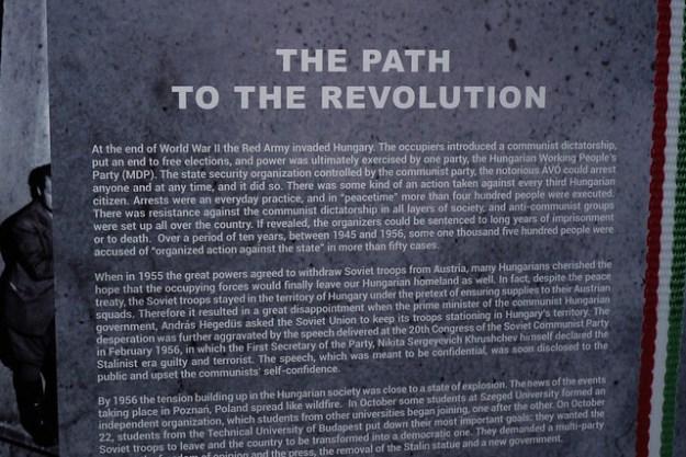 Revolution Plaque