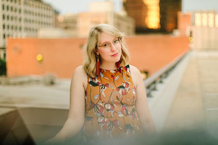 austin style blogger writes like a girl floral mustard dress9