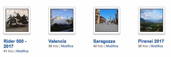 Le immagini del viaggio in Spagna per la Rider 1000