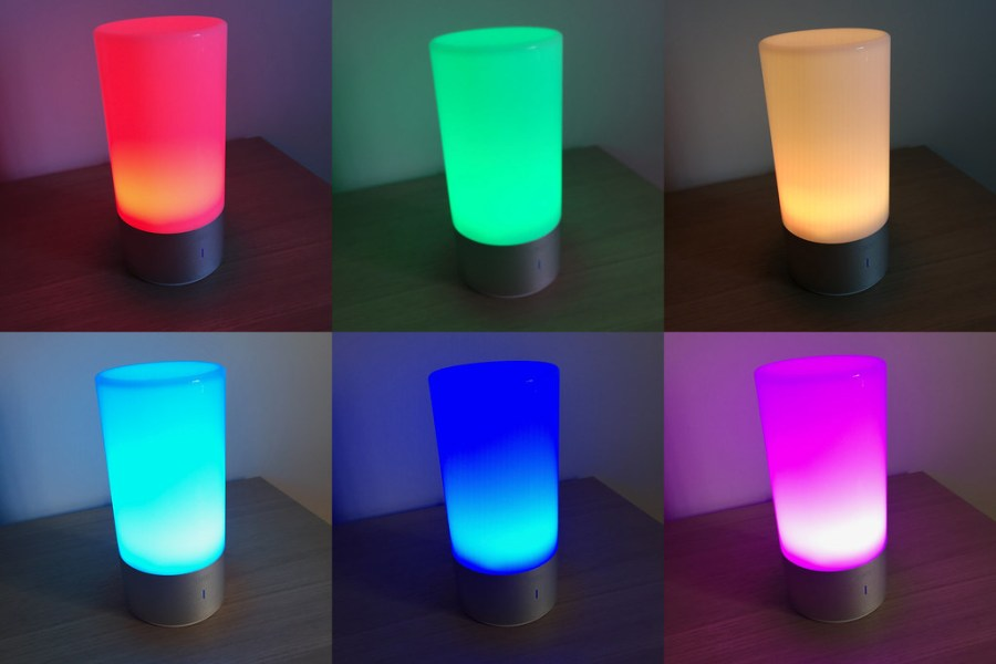 20170616 Test lampe de chevet Aukey Tactile_Couleur