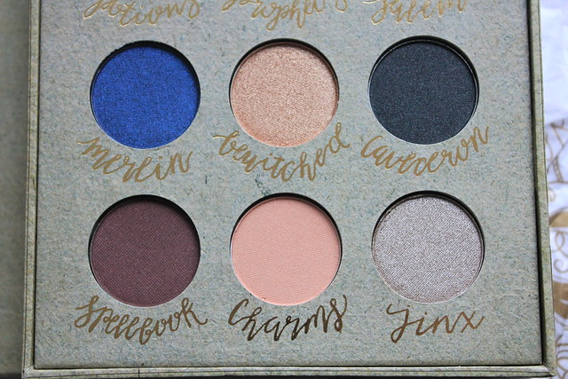 Storybook Cosmetics Wizardry and Witchcraft Palette