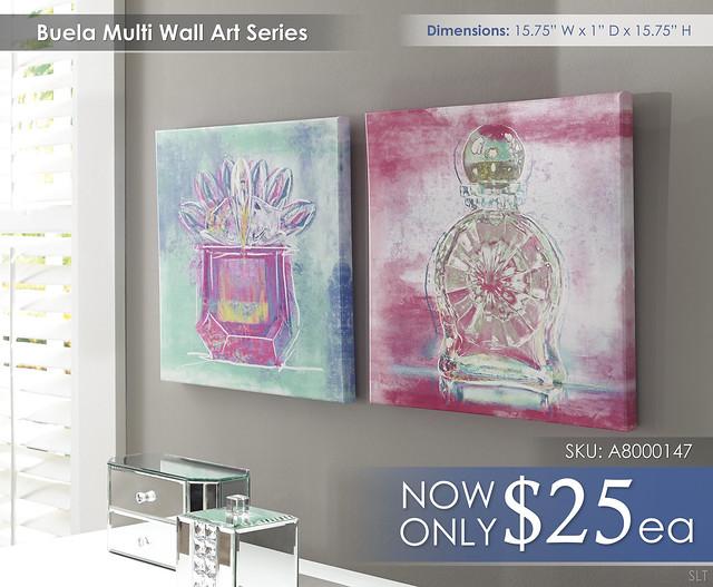 Buela Multi Art A8000147-150-SET
