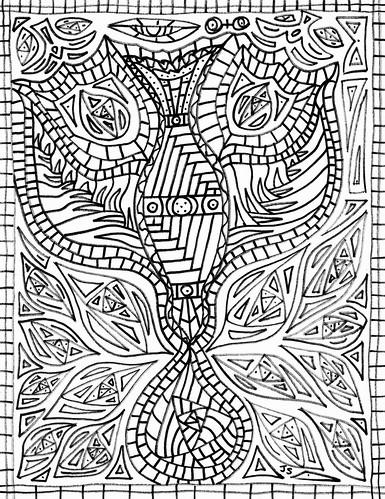 Pentecost Coloring Page Transformation Stushie Art